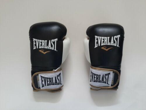 Everlast Boxing Powerlock Training Gloves Sparring Bag Mitt Work 10//12//14oz