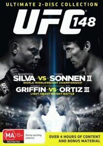 UFC-148-SILVA-VS-SONNEN-II-2-disc-collection-DVD-FREE-POSTAGE