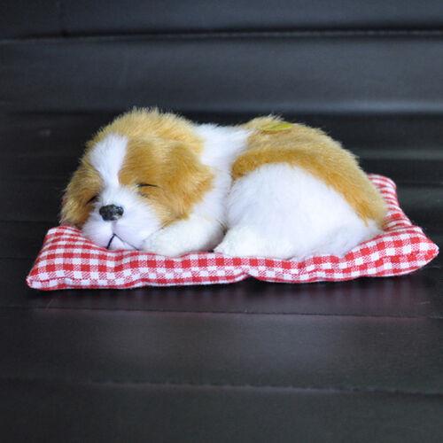 Animal Doll Plush Sleeping Dogs W//Sound Kids Best Gift Stuffed Lovely Toys Decor