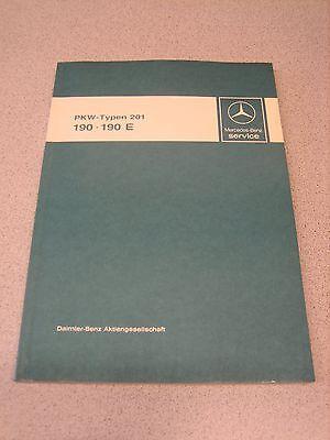 Mercedes-Benz, MB, Typen 201, 190, 190E