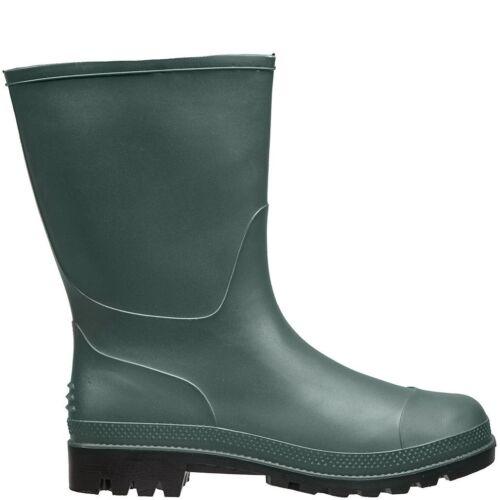 Briers Tradizionale Corto Stivali Wellington Impermeabili-VERDE TG UK 5 #39L227