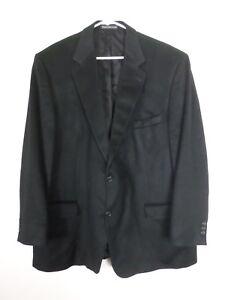 Blazer 100 taglia due a sportiva 50 nero Uomo bottoni cashmere Pronto Giacca pHqS7S