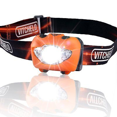 Brightest Headlight for Camping LED Headlamp Flashlight with Red Light