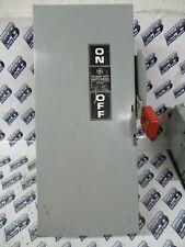 Ge Thn2262dc Model 10 60 Amp 600 Volt 2p2w Disconnect