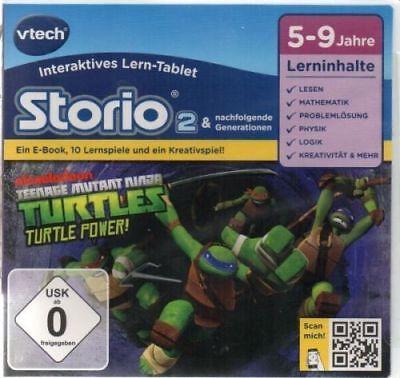 VTech 80-231304 Lernspiel Storio 2, Storio 3 Teenage Mutant Ninja Turtles -