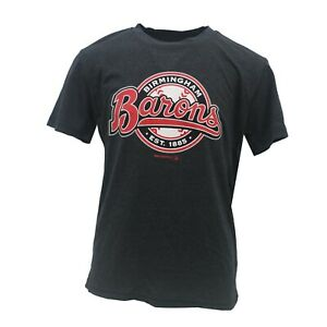 Birmingham-Barons-Official-AA-MLB-Apparel-Kids-Youth-Athletic-T-Shirt-New-Tags