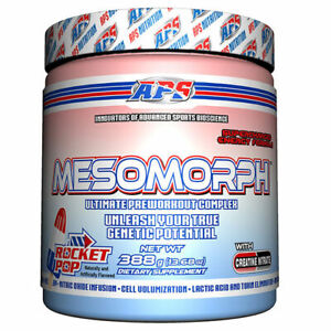 QUALITY APS MESOMORPH PRE-WORKOUT 388g USA Formula