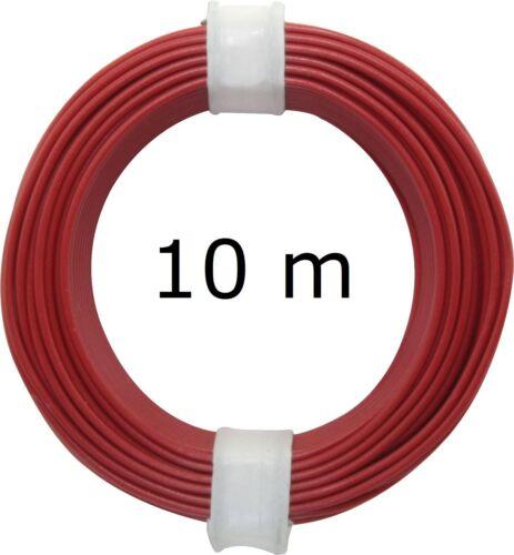1m=0,099 € 9 Farben 0,5 mm 105 50 m Schaltdraht 5 x 10 m Ring - Farbwahl