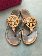 407ceae43 item 6 TORY BURCH Miller Royal Tan Beige Vintage Leather Thong Sandal Sz  7.5  H1 -TORY BURCH Miller Royal Tan Beige Vintage Leather Thong Sandal Sz  7.5  H1