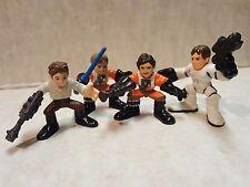 Star Wars Galactic Heroes Luke, Han & Biggs Darklighter Action Figures Hasbro