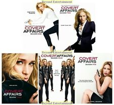 Brand New Covert Affairs Complete TV Series Collection Seasons 1 2 3 4 5 DVD 1-5