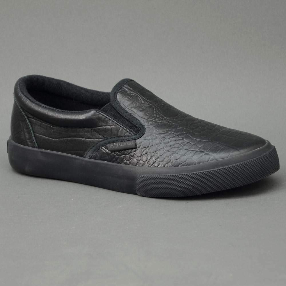 Superga Slip On 2311-F90 Negro Modelo 2311-F90
