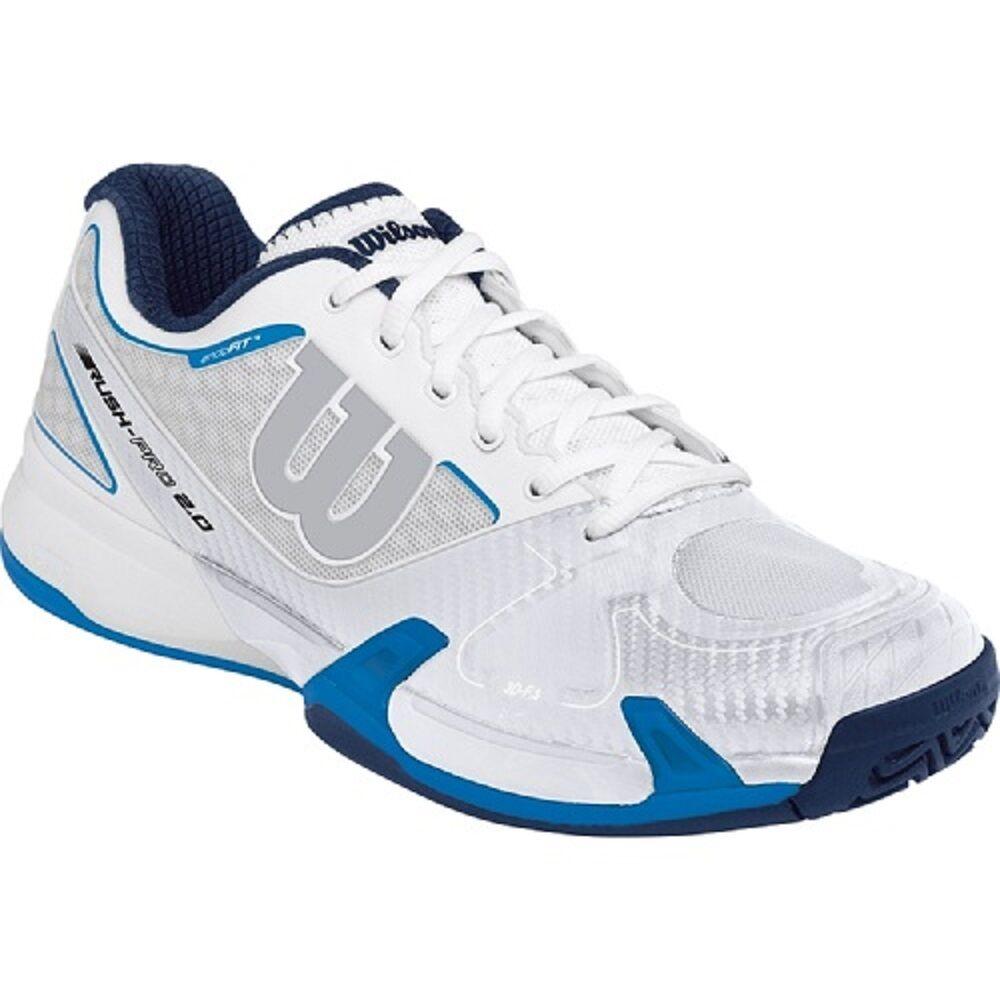 Wilson Rush pro 2.0 zapatillas de tenis - distribuidor autorizado - precio de inscripción  129   de los EE.UU.