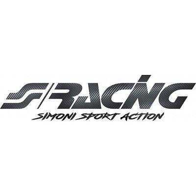 Simoni Racing FPSR//C Fascia Parasole Adesiva Carbon Look