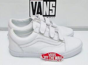d7511740a4e46b Vans Old Skool V Mono Leather True White VN0A3D29OP0 Men s Size  11 ...