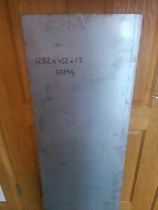 1282x432x1.2 Stainless Sheet Plate Metal Off Cut
