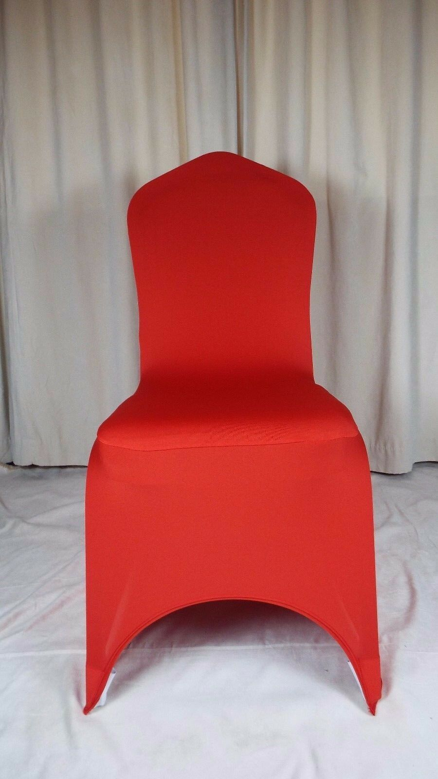 50 Rouge Spandex Chair Covers
