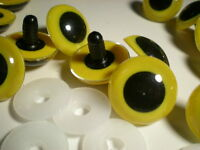 20 Plastic Doll Craft Eyes Size 24mm (approx.one Inch) Diameter For Crafts/dolls