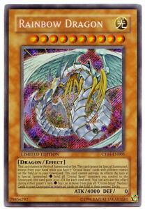 YUGIOH • Rainbow Dragon CT04-EN005 Drago Arcobaleno SECRETRARE LIMITED NMINT