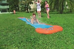 Bestway H20GO! Single Water Slide 5.5 m Inflatable Slip and Slide with Sprinkler