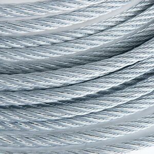 """3//16/"""" Stainless Steel Aircraft Cable Wire Rope Type 7x19 Type 316 250 Feet"""