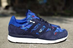 ADIDAS ZX 500 MENS SHOES HAWAIIAN ALOHA FLORAL PACK MARINE BLUE WHTE M20140