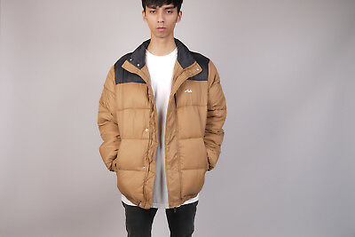 best cheap 74a20 48bd4 Fila Raith Puff Jacket Downjacket Daunenjacke camel L NEU! Winterjacke  kappa | eBay
