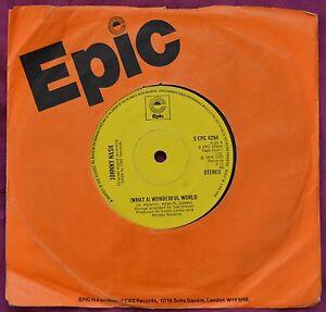 Johnny Nash  It039s A Wonderful World 7  S EPC 4294 matrix A1B1  Ex - todmorden, Lancashire, United Kingdom - Johnny Nash  It039s A Wonderful World 7  S EPC 4294 matrix A1B1  Ex - todmorden, Lancashire, United Kingdom