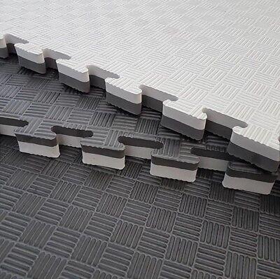 XL 20 sqm  Eva interlocking jigsaw floor tiles //mats//gym//karate 1m x 1m x 25mm