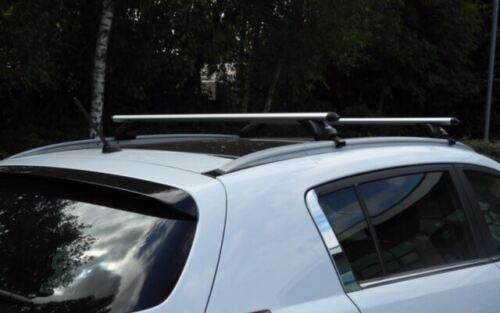 Aluminium Summit Roof Rack Cross Bars fits Volvo V60 2010-2019 5 door