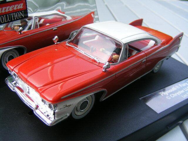 Carrera Evolution 27253 Plymouth Fury '60 NEW Light