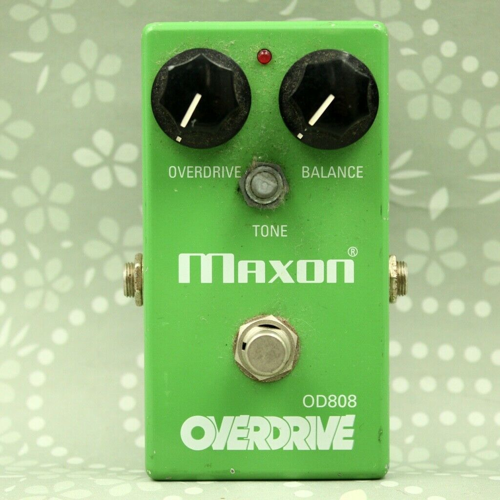 MAXON OD808 OVERDRIVE guitar effect pedal Free shipping (0850D156)