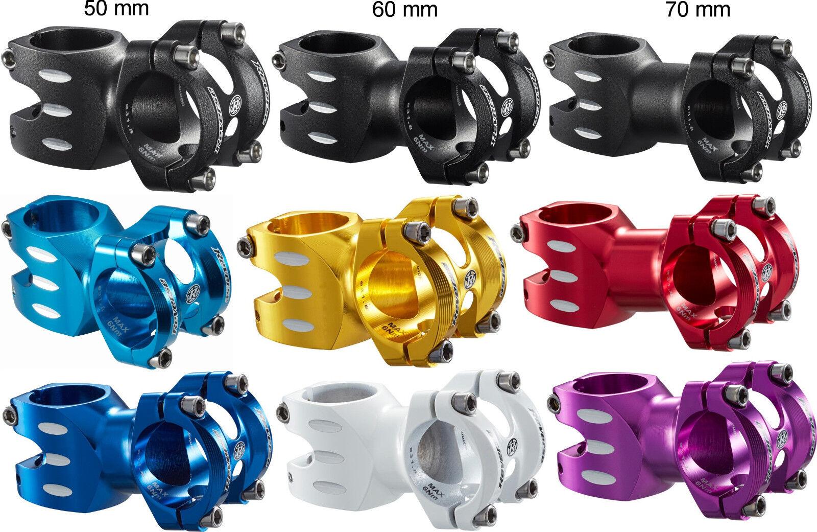 Vorbau Reverse S-Trail 8° 31,8 mm diverse Längen und Farben