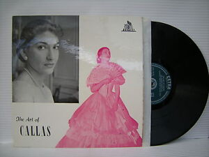 Maria-Callas-The-Art-Of-Callas-Cetra-LPC-50175-Ex-Condizioni-Vinile-LP