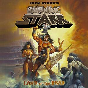 JACK-STARR-039-S-BURNING-STARR-Land-Of-The-Dead-CD-2011-Limb-Music-US-Power-Metal