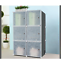 16-20-Cube-DIY-Plastic-Storage-Wardrobe-Shoe-Organizer-Shelves-Unit-Hanging thumbnail 9