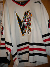 1999-2000 DRUMMONDVILLE VOLTIGEURS DAVID GIRARD GAME WORN HOCKEY JERSEY BAUER
