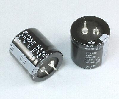 2PCS 6800UF 100V 6800 uf Electrolytic Capacitor 105℃/<*FAST SHIPPING/>DD017 New