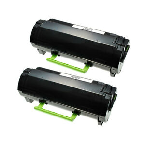 2-TONER-for-LEXMARK-50F1H00-MS310-MS410-MS610-MS510-MS312-MS315-MS415-5000Page