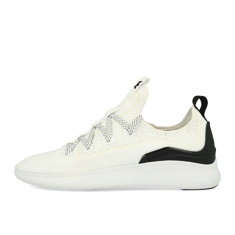 Supra Factor White Black White Schuhe Sneaker Weiß Schwarz