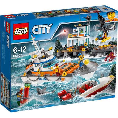 LEGO City 60167-Coast Guard Head trimestri NUOVO OVP