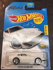2017 Hot Wheels Super CUSTOM Datsun 240Z FUGUZ with Chrome Real Riders