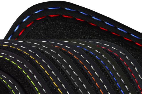 Fußmatten für AUDI A6 S6 RS6 4G ab Bj.2011 Autoteppiche Exclusiv Linie silber