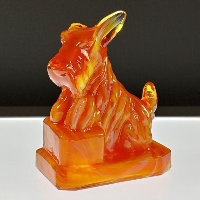 SEPTEMBER SWIRL #4 JB Scottie Boyd's Crystal Art Glass First Series 9-12-83 NOS