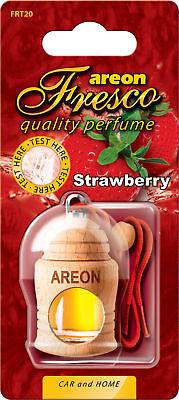 3x Originale Areon Fresco Profumo Per Auto Albero Profumato Deodoranti Fragola
