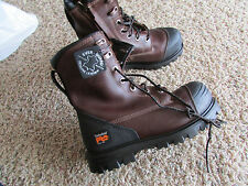 NEW TIMBERLAND PRO WATERPROOF WORK BOOTS MENS 7W A1179 CAP ROCK SAFETY TOE 8""
