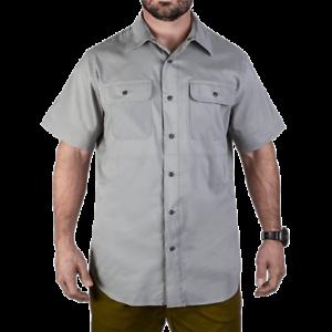 greenx Men's  Grey Short Sleeve Guardian Shirt VTX1430-GY-XXL  support wholesale retail