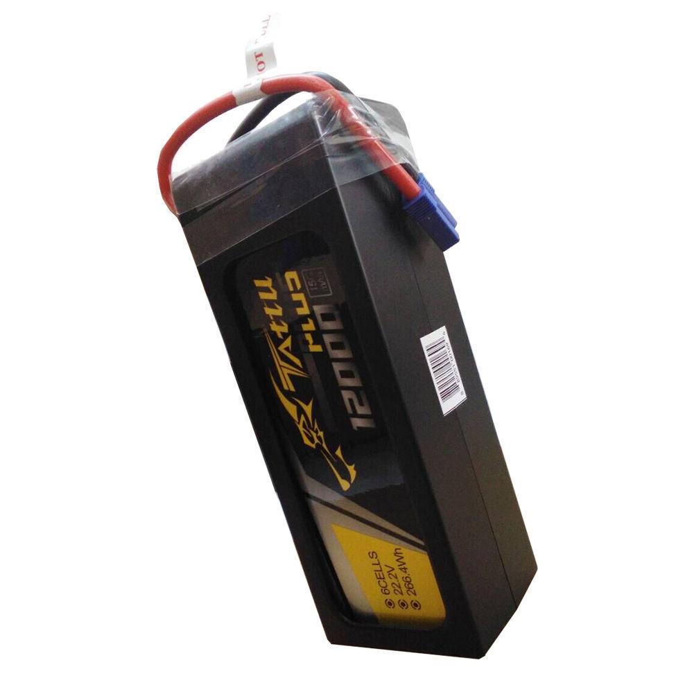 Tattu plus 12000mah 22.2v 15c 6s1p lipo batterie ec5 dji s800evo s900 s1000 arzneimitteln
