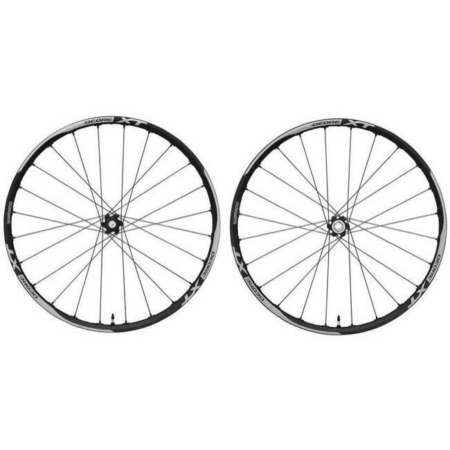 New Shimano XT Trail WH-788 Tubless Wheel Set 26  25.8mm All Mountain Enduro
