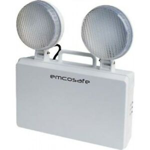 Emco LED Lighting IP20 3W 3-Hour Non-Maintained Emergency Twinspot ...